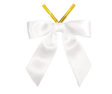 SF Satin Twist-tie Bow