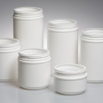 New HDPE Canisters from Alpha Offer Three Neck Finishes in 11 Sizes