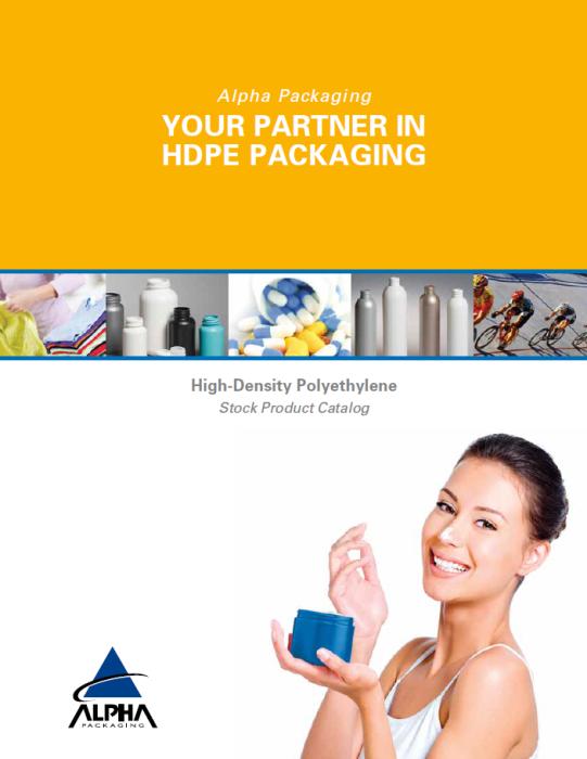 Alpha Packaging HDPE Catalog