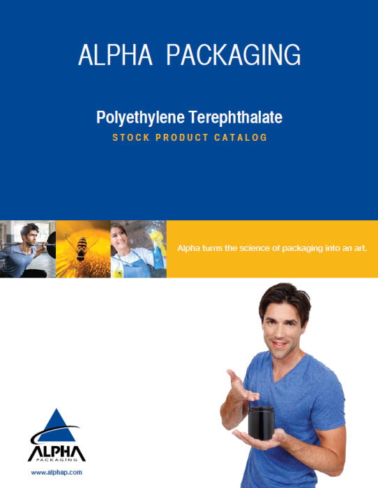 Alpha Packaging PET Catalog