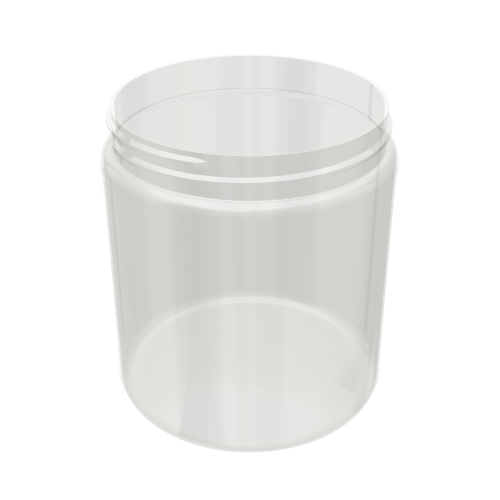 PET Wide Mouth Jar - 19oz / 570ml 89-400