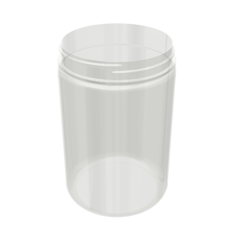 PET Wide Mouth Jar - 25oz / 750ml 89-400
