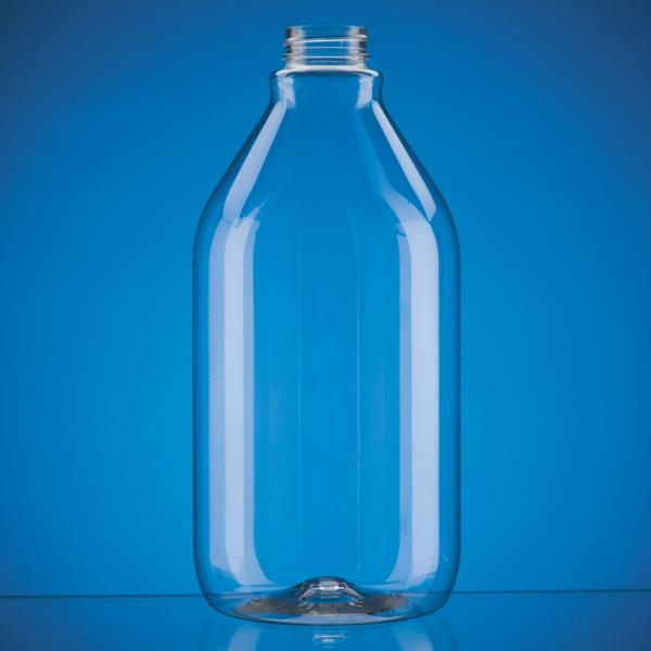 PET Decanter Round - 64oz 38-400