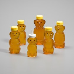 PET Honey Bear - 5oz 2-Panel 38-400