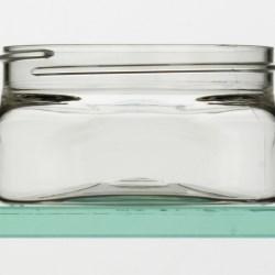 PET Firenze Square Jar - 4oz / 125ml 70-400