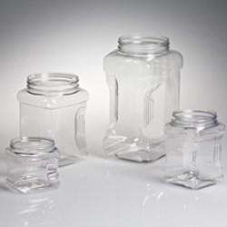 PET Plaza Jars