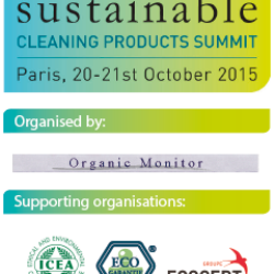 Sustainable Cleaning Products Summit in Paris 2015