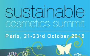 Sustainable Cosmetics Summit in Paris 2015