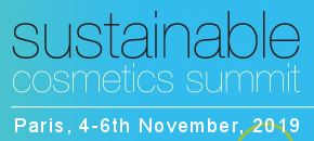 Sustainable Cosmetics Summit Europe 2019