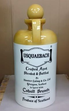 The Making of an Usquaebach Decanter