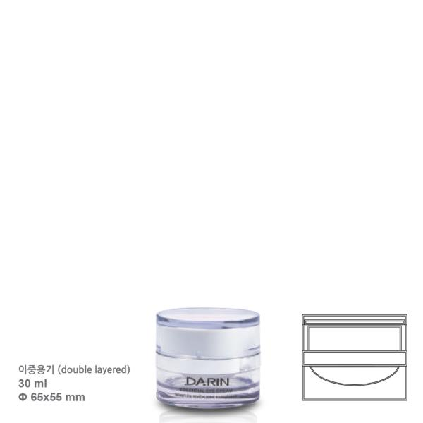 30 ml double-layered cream jar