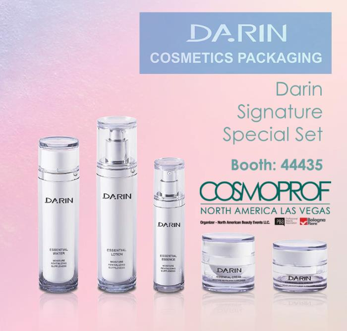 "Darin Cosmetics Packaging presents ""Signature Special Set"" for visitors of Cosmoprof North America 2018"