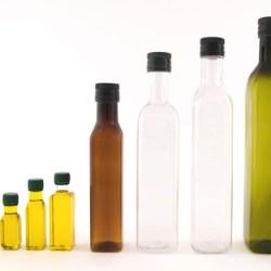 New PET oil bottles from Gepack