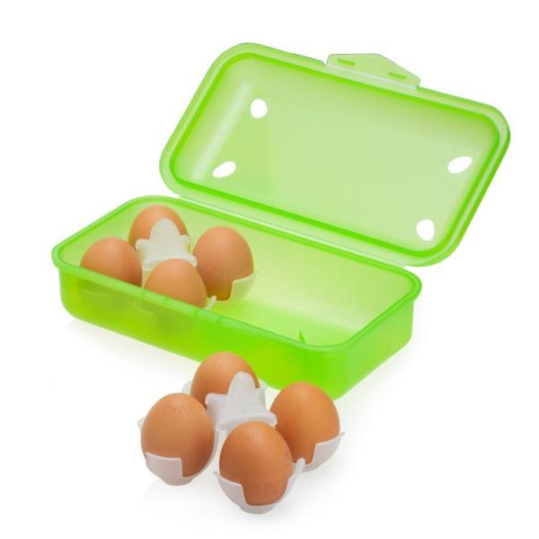 Reusable egg box: From fridge to pot