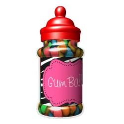 330ml Round Dispenser Jar