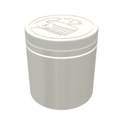 200ml Wide Neck Child-Resistant Polypropylene Jar with 70mm Neck
