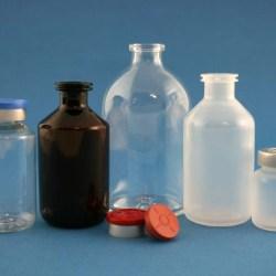 Comprehensive range of injection vials in multiple materials