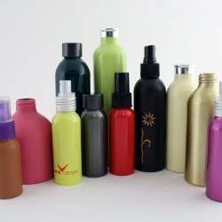 New range of coloured aluminium bottles launched by Neville and More
