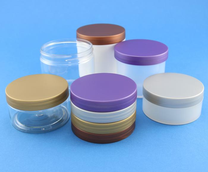 Neville and Mores new metallic effect plastic jar lids
