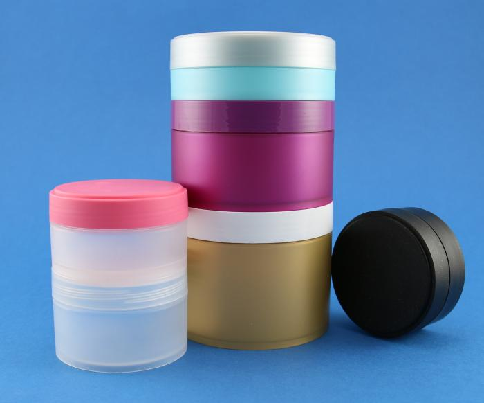 A new range of wide profile plastic jars by Neville and More