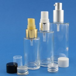 Neville and Mores latest glass bottles and jars for cosmetic, fragrance and personal care products