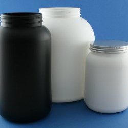 New high performance 6 litre HDPE jar