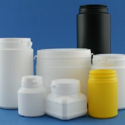 New range of tamper evident plastic jars