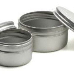 Aluminium jar range now includes 9 sizes in stock