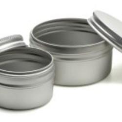 Aluminium jar range now includes 9 sizes in stock