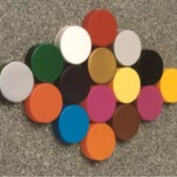Unlimited colour choice on caps