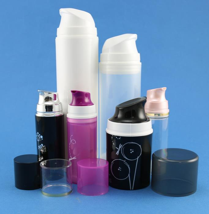 New range of eco friendly airless bottles from stock