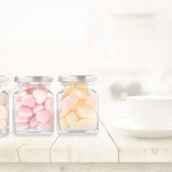 Plastic Jars for Confectionery, Nuts and Spices