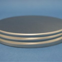 89mm 400 Smooth Aluminium Cap with EPE Liner