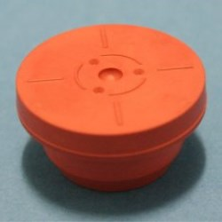 38mm Red Natural Rubber Stopper