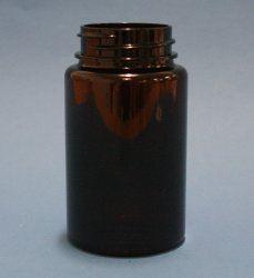 150ml Omnijar Amber PET 38mm Screw Neck