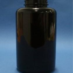 500ml Omnijar Amber PET 45mm Hinge-Guard Neck