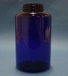 300ml Omnijar Blue PET 45mm Screw Neck
