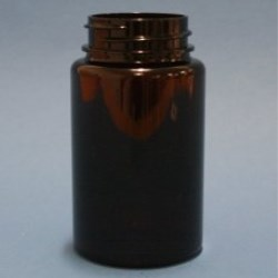 150ml Omnijar Amber PET 38mm Hinge-Guard Neck
