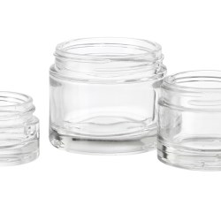 Thick Base Glass Jars