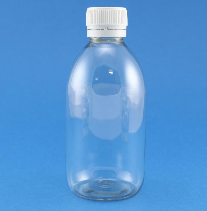 300ml Alpha Clear PET Bottle 28mm Neck