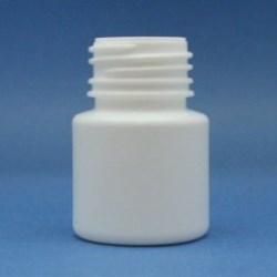 30ml Alpha Bottle White HDPE 28mm Neck