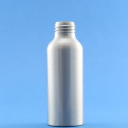 100ml Aluminium Bottle 24mm Neck