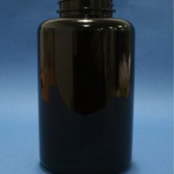 950ml Omnijar Amber PET 53mm Hinge-Guard Neck
