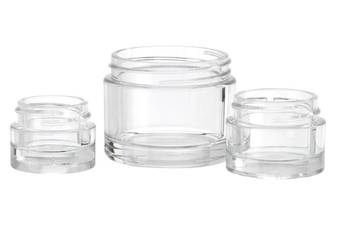 Cleopatre Thick Walled PETG Jars