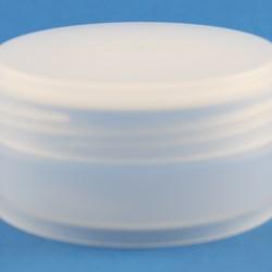 50ml Natural Low Profile Polypropylene Jar with 68mm Twist Off Neck