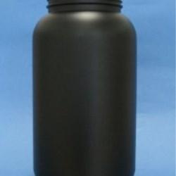 3000ml Omnijar Black HDPE 100mm Screw Neck