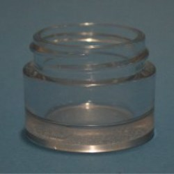 15ml Cleopatre Thick Walled PETG Jar 38mm Neck