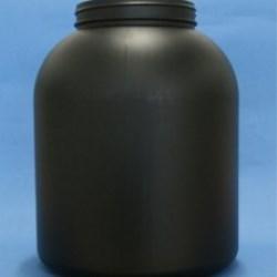 6000ml Omnijar Black HDPE 120mm Screw Neck