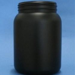 1500ml Omnijar Black HDPE 100mm Screw Neck