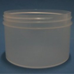 600ml Natural Polypropylene Regular Walled Simplicity Jar 120mm Screw Neck